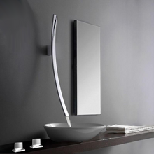 "Load image into Gallery viewer, ""Falling Arc"" - Modern Sink Faucet"