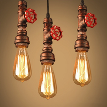 "Load image into Gallery viewer, ""Hanging Cool"" Steampunk Ceiling Light"