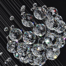 "Load image into Gallery viewer, ""The Planets"" - 3D Crystal Staircase Chandelier"