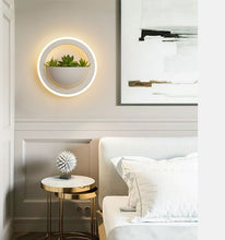 Load image into Gallery viewer, Modern Art Plant Wall Light