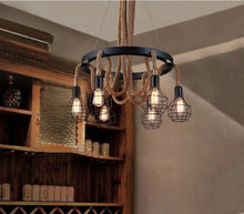"Load image into Gallery viewer, ""Banquet Hall"" - Retro Loft Pendant Light"