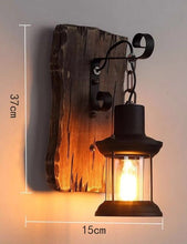 "Load image into Gallery viewer, ""Retro Lantern"" - Vintage Wall Lamp"