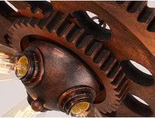 "Load image into Gallery viewer, ""It's Gear Time"" Steampunk Chandelier"