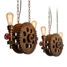"Load image into Gallery viewer, ""The Cog"" Steampunk Light"