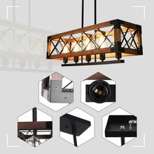 "Load image into Gallery viewer, ""Edison's Box"" - Retro Industrial Pendant Light"