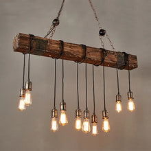 "Load image into Gallery viewer, ""Vintage Beam"" - Retro Industrial Pendant Light"