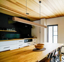 "Load image into Gallery viewer, ""Natural Minimalist"" - Nordic Wood Pendant Light"