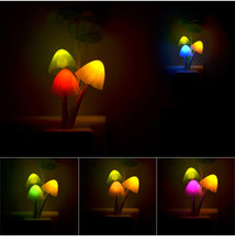 "Load image into Gallery viewer, ""The Realm"" - LED Mushroom Night Light"