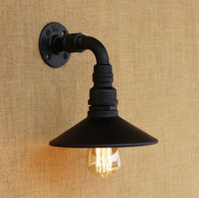 "Load image into Gallery viewer, ""The Right Drip"" Steampunk Wall Lamp"