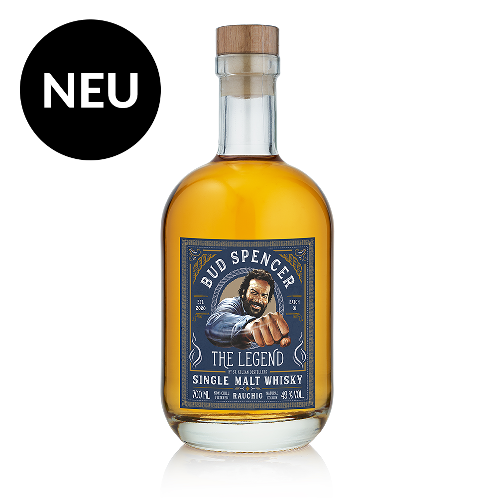 BUD SPENCER WHISKY – THE LEGEND – RAUCHIG 0,7 L