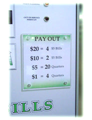 Alternative Payout Plaque