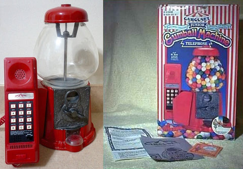 Junior Carousel Gumball Machine Telephone 1988