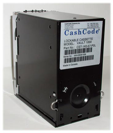 Cashcode 1,000 Bill Capacity Stacker Upgrade