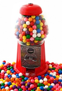 Gumball Machine as Gifts