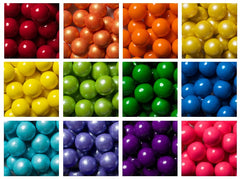 Gumballs sold by the pound