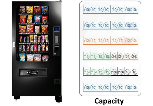 Seaga Manufacturing INF4S Infinity Series Snack Food Vending Machine