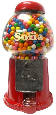Personalized King Carousel Gumball Machine | Gumball.com