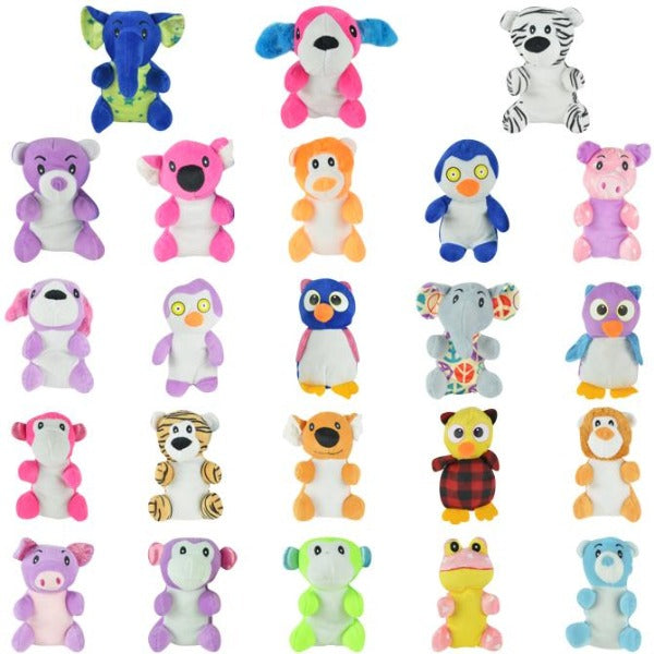 100% Non-Licensed Generic Small Plush Mix 144 ct Product Image