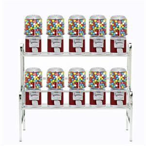 10 Unit Machine Vending Rack