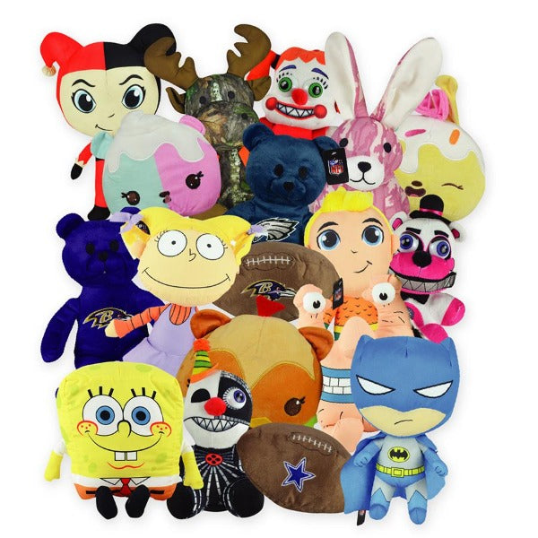 100% Licensed Jumbo Plush Mix 40 ct Product Image