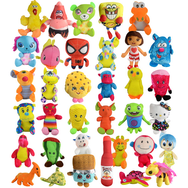 33% Licensed Small Plush Mix - 180 ct