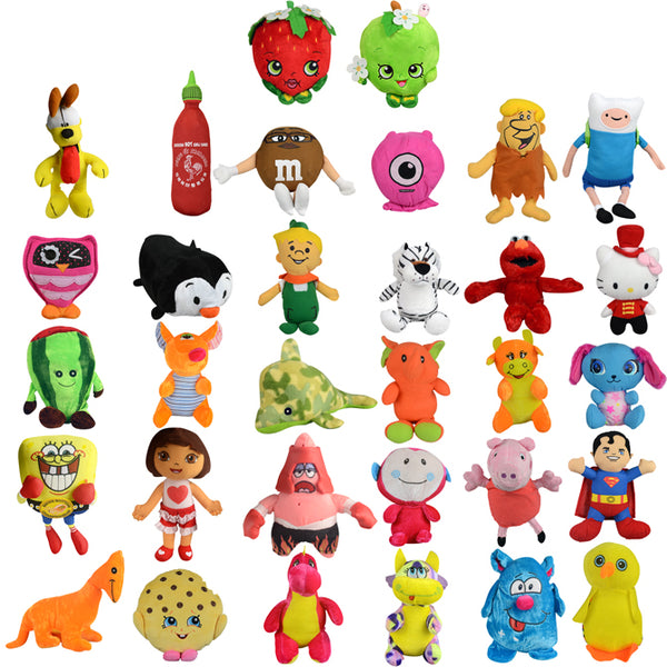 50% Licensed Small Plush Mix - 180 ct