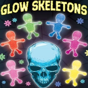 "Glow Skeletons 1"" Capsules Product Image"