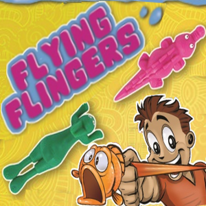 Flying Flingers 2 inch animal toy vending capsules