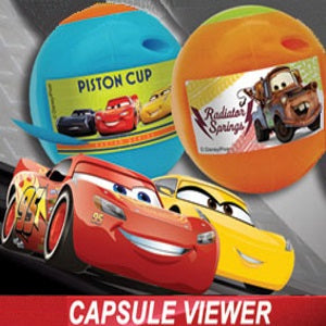 Disney Cars themed self vending toy viewers