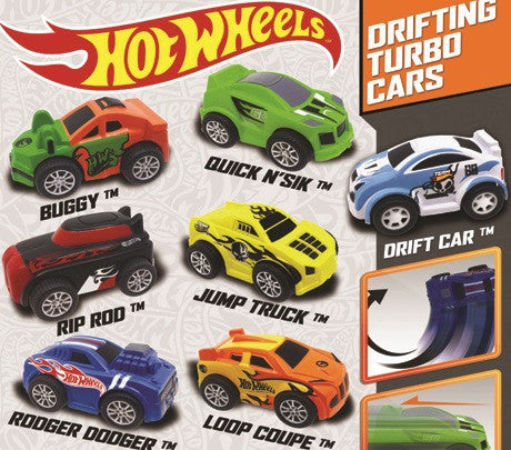 Hot Wheels Pull Back Cars 2
