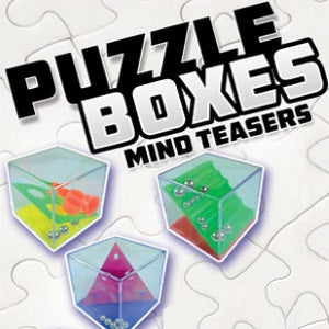 puzzle boxes 2 inch vending capsule toy