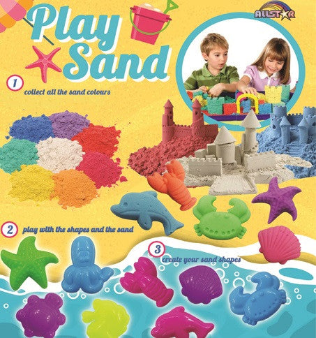 Play Sand & Shapes 2 Inch Toy Capsules