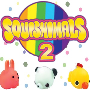 "Squishimals 2"" Vending Capsules"
