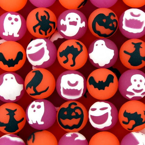 27 mm Halloween Mix Bouncy Balls