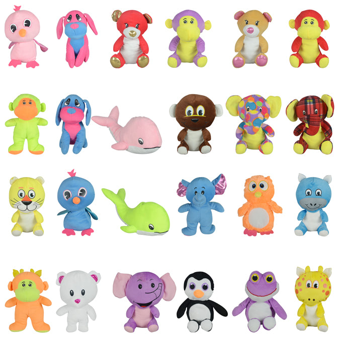 Non-Licensed Medium Plush Toy Mix 96 count