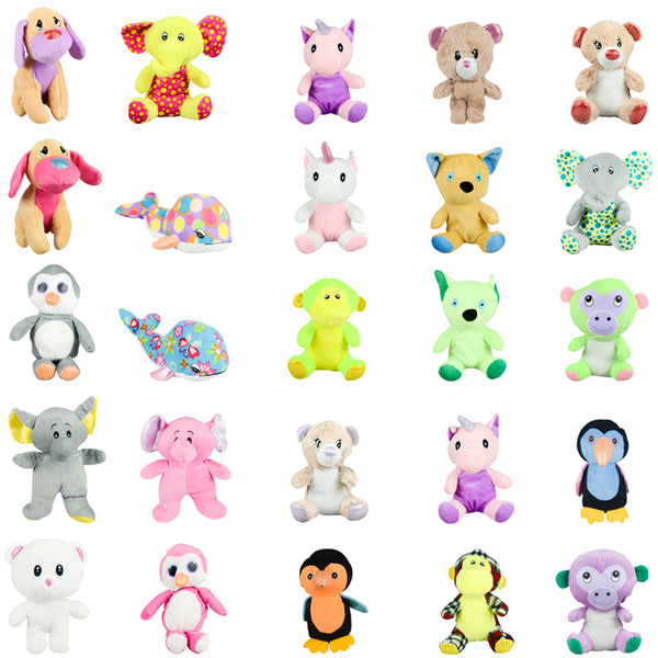 100% Generic Medium Plush Mix 96 ct