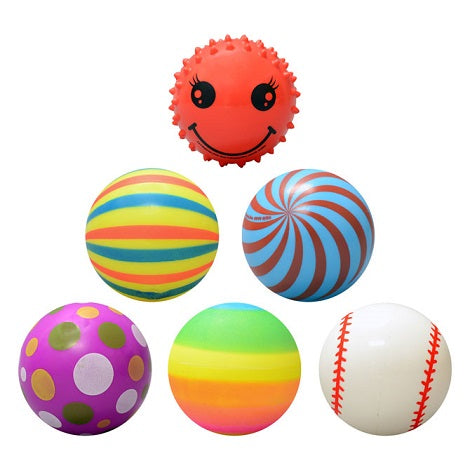 3 inch Assorted Vinyl Balls Mix product detail