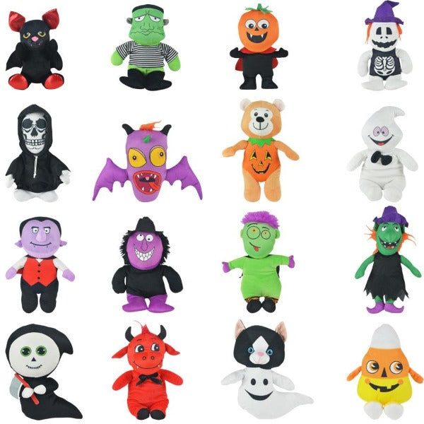 Jumbo Non-Licensed Halloween Plush Mix 48 count Product Image