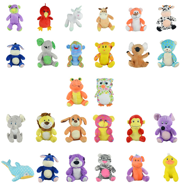 Jumbo Generic Plush Mix #13 50 ct