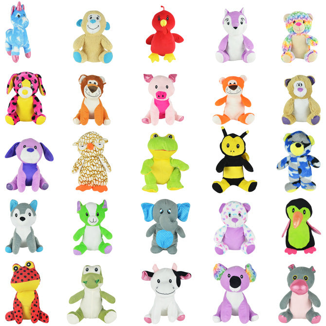 Jumbo Generic Plush Mix #21 50 ct Product Image