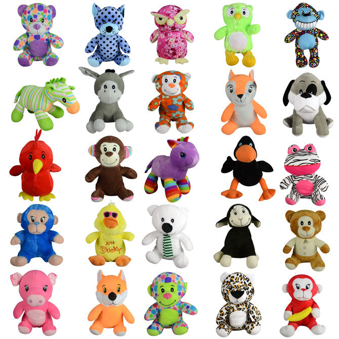 100% Generic Plush Mix 50 count