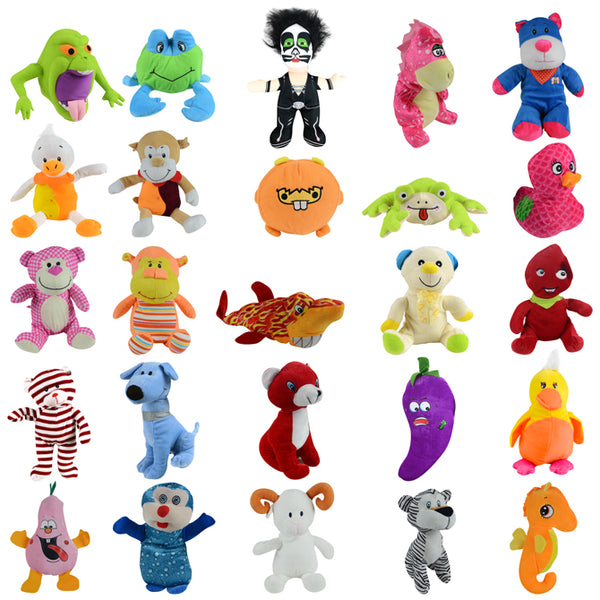 12% Licensed Jumbo Plush Mix - 75 ct