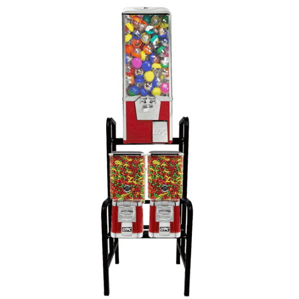 3 Unit LYPC Big Pro & Pro Line Combo Vending Machine Rack Product Image