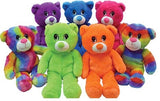 Neon bears jumbo plush mix display