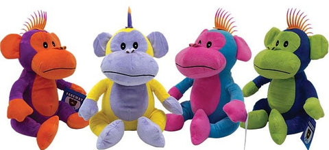 Punk Monkeys Jumbo Plush Mix