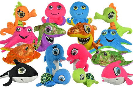 Sea Life Jumbo Generic Plush Mix 48 ct product details