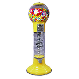 4 foot tall WizKid spiral gumball machine