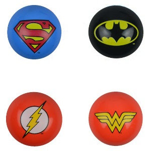 45mm DC Comics Justice League Logo Superballs