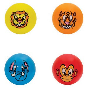 Jungle Animal Face 5 inch balls image