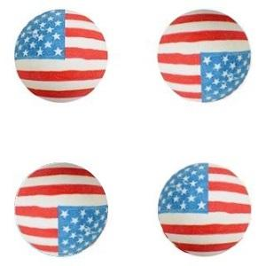 45 mm USA Flag Superballs